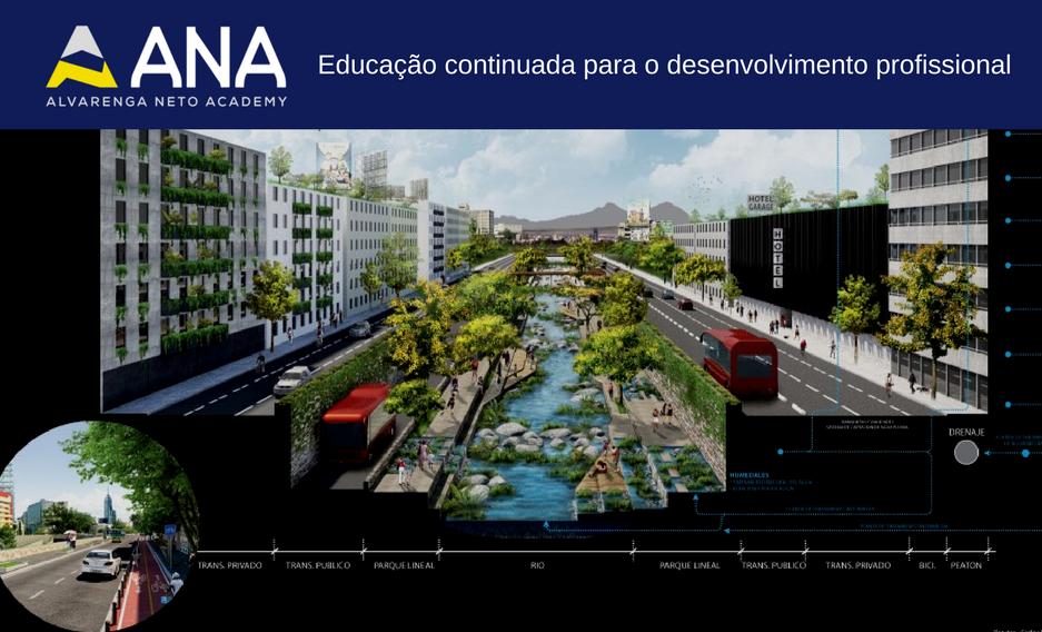 Escola de paisagismo; Oficina de Técnicas de Projeto em Infraestrutura Verde; Curso de infraestrutura verde