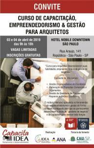 curso de capacitação em gestão para arquitetos