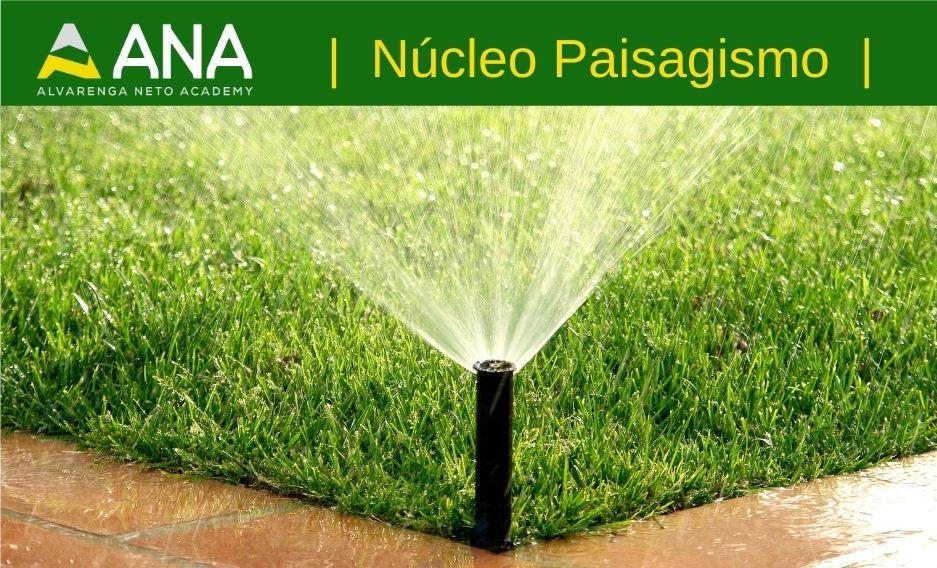Curso de introdução à irrigação no paisagismo