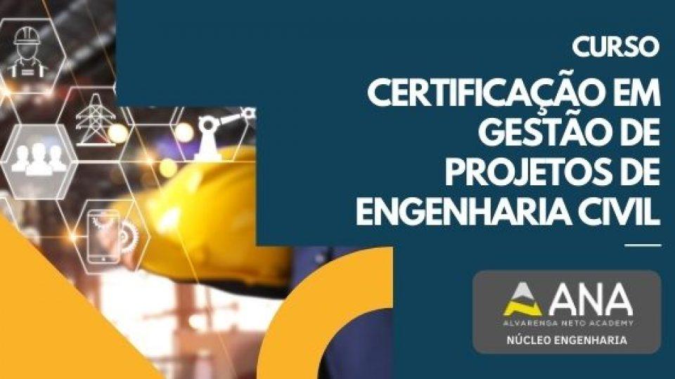 Curso Certificação em Gestão de Projetos de Engenharia Civil